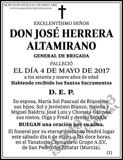 José Herrera Altamirano